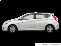 2016 Hyundai Accent 5 Doors LE   Photo 1   Century White