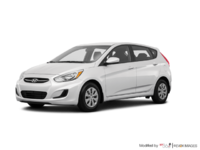 2016 Hyundai Accent 5 Doors LE   Photo 3   Century White