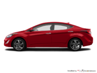2016 Hyundai Elantra LIMITED | Photo 1 | Geranium Red