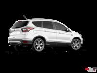 2017 Ford Escape TITANIUM   Photo 2   White Platinum