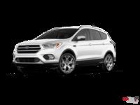 2017 Ford Escape TITANIUM   Photo 3   White Platinum