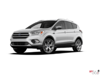 2017 Ford Escape TITANIUM   Photo 3   Ingot Silver