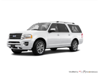 2017 Ford Expedition LIMITED MAX   Photo 3   White Platinum Metallic