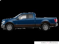2017 Ford F-150 LARIAT | Photo 1 | Blue Jeans Metallic/Caribou