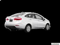 2017 Ford Fiesta Sedan S   Photo 2   Oxford White