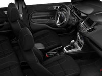 2017 Ford Fiesta Sedan SE | Photo 1 | Charcoal Black Unique Cloth Bolster w/Silver Seat Stitching