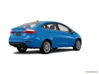 2017 Ford Fiesta Sedan TITANIUM | Photo 2 | Blue Candy