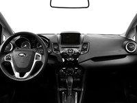 2017 Ford Fiesta Sedan TITANIUM | Photo 3 | Charcoal Black Leather