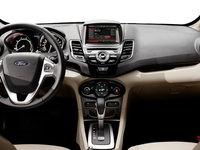 2017 Ford Fiesta Sedan TITANIUM | Photo 3 | Medium Light Stone Leather