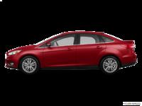 2017 Ford Focus Sedan TITANIUM | Photo 1 | Ruby Red Metallic