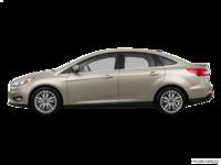2017 Ford Focus Sedan TITANIUM | Photo 1 | White Gold