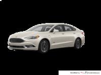 2017 Ford Fusion Energi PLATINUM | Photo 3 | White Gold
