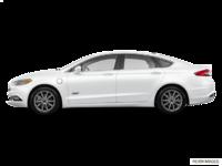 2017 Ford Fusion Energi TITANIUM | Photo 1 | White Platinum