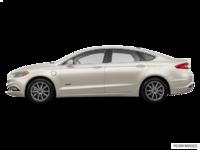 2017 Ford Fusion Energi TITANIUM | Photo 1 | White Gold