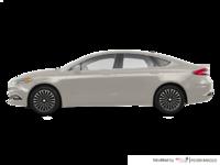 2017 Ford Fusion Hybrid TITANIUM | Photo 1 | White Gold