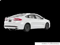 2017 Ford Fusion Hybrid TITANIUM | Photo 2 | Oxford White