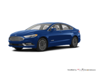 2017 Ford Fusion Hybrid TITANIUM | Photo 3 | Lightning Blue