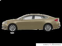 2017 Ford Fusion PLATINUM | Photo 1 | White Gold