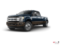 2017 Ford Super Duty F-450 KING RANCH | Photo 3 | Blue Jeans Metallic/Caribou