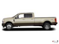 2017 Ford Super Duty F-450 KING RANCH | Photo 1 | White Gold Metallic/Caribou
