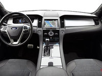 2017 Ford Taurus SHO | Photo 3 | Mayan Grey Leather with Mayan Grey Perforated Inserts SHO embroidered graphics