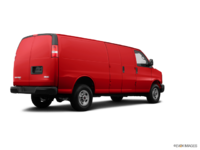 2017 GMC Savana 3500 CARGO | Photo 2 | Cardinal Red