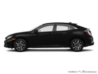2017 Honda Civic hatchback LX   Photo 1   Crystal Black Pearl