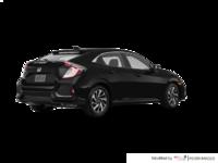 2017 Honda Civic hatchback LX   Photo 2   Crystal Black Pearl