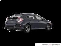 2017 Honda Civic hatchback LX   Photo 2   Polished Metal Metallic