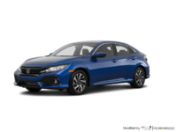 2017 Honda Civic hatchback LX   Photo 3   Aegean Blue Metallic