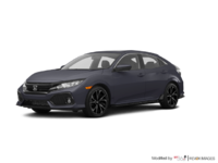 2017 Honda Civic hatchback SPORT   Photo 3   Polished Metal Metallic