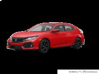 2017 Honda Civic hatchback SPORT   Photo 3   Rallye Red