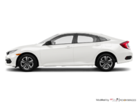 2017 Honda Civic Sedan DX | Photo 1 | Taffeta White