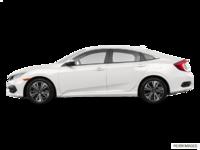 2017 Honda Civic Sedan EX-T | Photo 1 | White Orchid Pearl