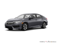 2017 Honda Civic Sedan LX-HONDA SENSING | Photo 3 | Modern Steel Metallic