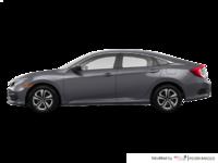 2017 Honda Civic Sedan LX | Photo 1 | Modern Steel Metallic