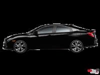 2017 Honda Civic Sedan SI | Photo 1 | Crystal Black Pearl