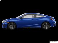 2017 Honda Civic Coupe LX-HONDA SENSING | Photo 1 | Aegean Blue Metallic