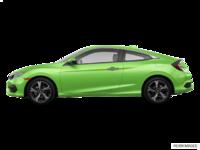 2017 Honda Civic Coupe TOURING | Photo 1 | Energy Green Pearl