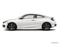 2017 Honda Civic Coupe TOURING | Photo 1 | White Orchid Pearl