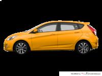 2017 Hyundai Accent 5 Doors SE | Photo 1 | Sunflower Yellow