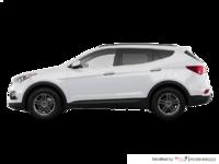 2017 Hyundai Santa Fe Sport 2.4 L SE | Photo 1 | Frost White Pearl