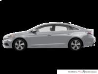 2017 Hyundai Sonata Hybrid LIMITED | Photo 1 | Silver