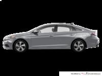 2017 Hyundai Sonata Hybrid LIMITED | Photo 1 | Grey