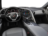 2018 Chevrolet Corvette Convertible Stingray 2LT | Photo 2 | Grey Competition Sport buckets Leather seating surfaces with sueded microfiber inserts (144-AE4)