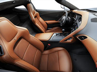 2018 Chevrolet Corvette Coupe Stingray 3LT | Photo 1 | Kalahari GT buckets Leather seating surfaces with sueded microfiber inserts (346-AQ9)
