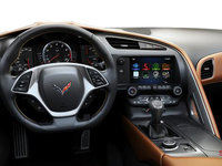2018 Chevrolet Corvette Coupe Stingray 3LT | Photo 3 | Kalahari GT buckets Leather seating surfaces with sueded microfiber inserts (346-AQ9)