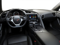 2018 Chevrolet Corvette Coupe Stingray 3LT | Photo 2 | Jet Black GT buckets Leather seating surfaces with sueded microfiber inserts (198-AQ9)