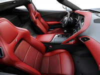 2018 Chevrolet Corvette Coupe Stingray 3LT | Photo 1 | Adrenaline Red GT buckets Leather seating surfaces with sueded microfiber inserts (706-AQ9)
