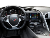 2018 Chevrolet Corvette Coupe Stingray 3LT | Photo 3 | Grey GT buckets Perforated Napa leather seating surfaces (145-AQ9)